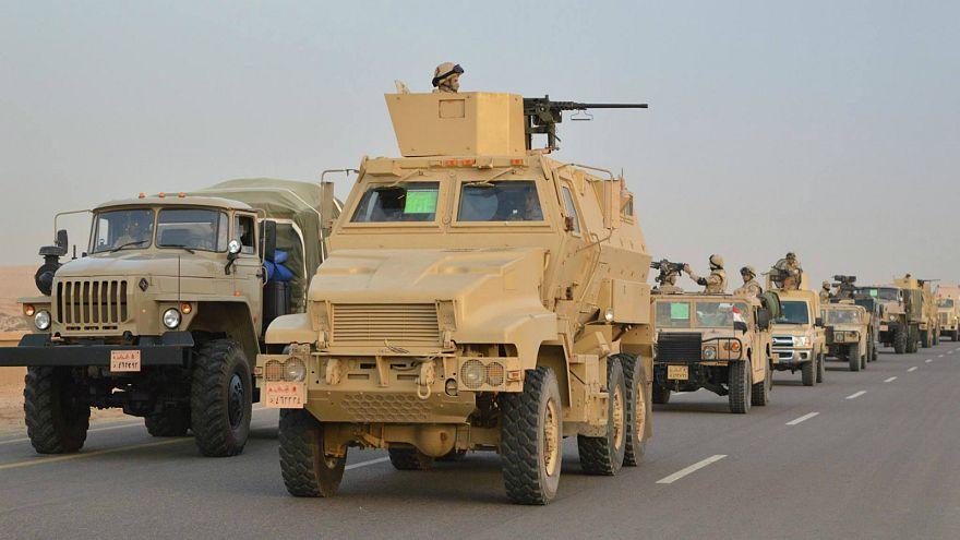 القضاء على خلية إرهابية مكونة من عشرة تكفيريين والقبض على 400 بينهم أجانب في عملية سيناء