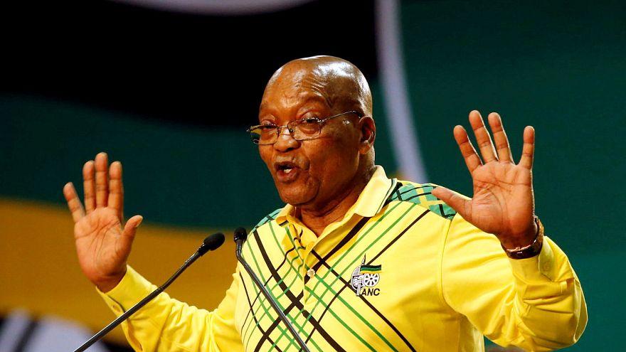 Απομάκρυνση Ζούμα από την προεδρία της Ν.Αφρικής