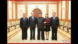 Kim Dzsongun elégedett és köszönetet mondott