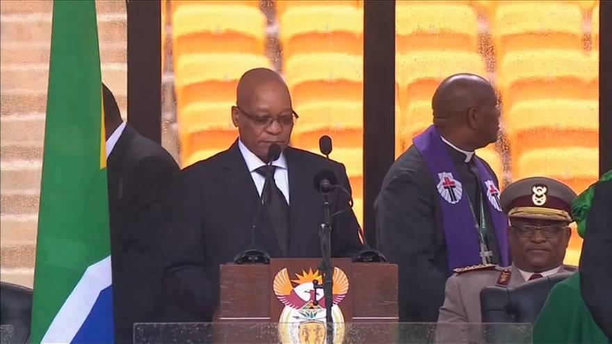 Güney Afrika lideri Zuma'ya istifa çağrısı