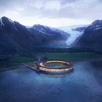 """The world's first """"energy positive"""" hotel will open in the Arctic Circle"""