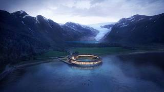 "The world's first ""energy positive"" hotel will open in the Arctic Circle"