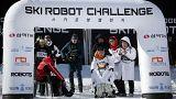 Ρομπότ σκιέρ κάνουν τους δικούς τους Ολυμπιακούς αγώνες