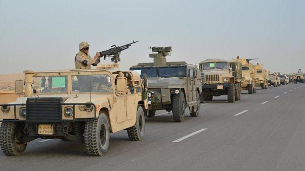 Forças egípcias matam 10 extremistas no Sinai