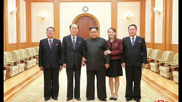 Delegação norte-coreana regressa a casa
