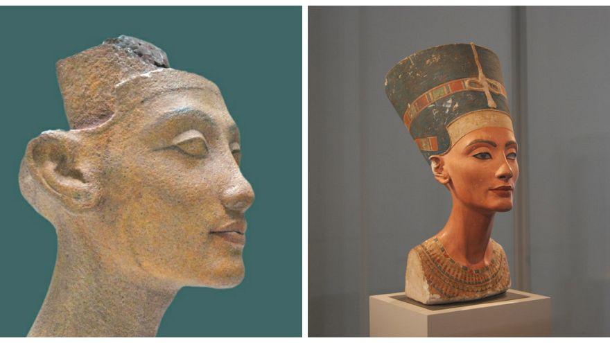 """هل كانت الملكة الفرعونية """"نفرتيتي"""" بيضاء البشرة؟"""