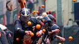 Ιταλία: «Πόλεμος» με... πορτοκάλια!