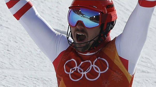 Olimpiadi: medaglia d'oro per Hirscher e Kim