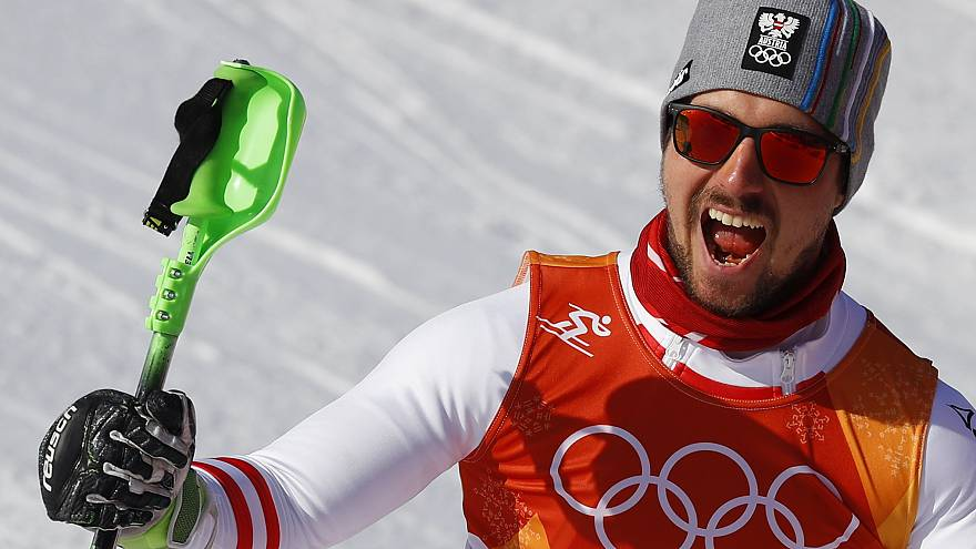 Primeiro ouro para Marcel Hirscher nos Jogos de Inverno