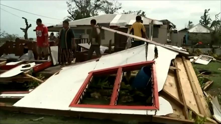 Ciclone Gita semea o caos no arquipélago de Tonga