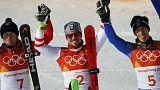 Medallas históricas en los Juegos Olímpicos de Pyeongchang