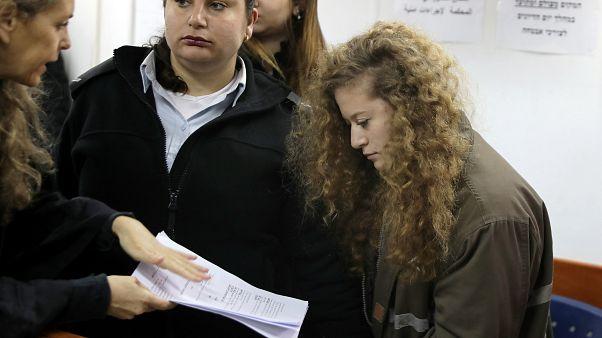 Huis clos pour le procès d'Ahed Tamimi