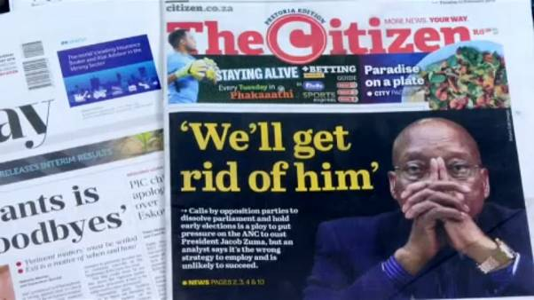 Sokadszor is inog az elnök széke Dél-Afrikában