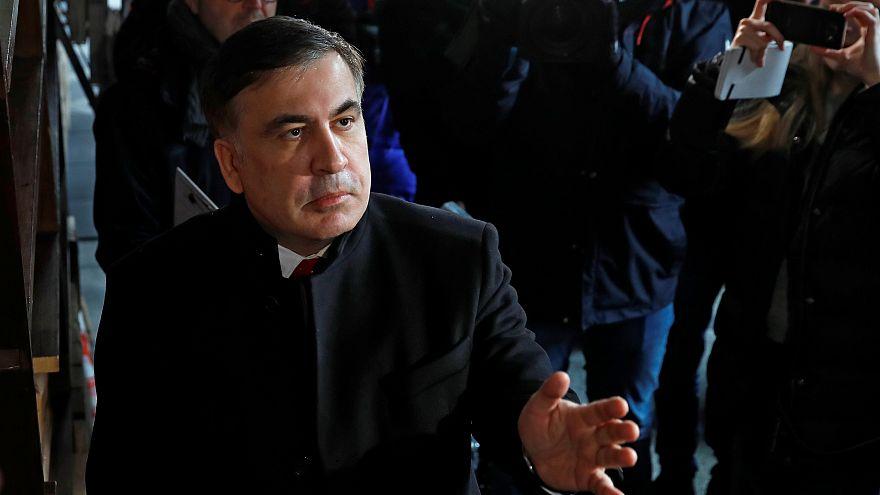 شاهد: القبض على الرئيس الجورجي السابق ساكاشفيلي وترحيله إلى بولندا