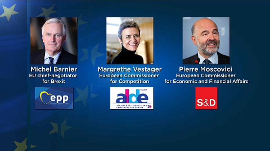 Europäische Spitzenkandidaten für 2019
