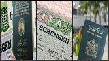 جوازا سفر مغربي وجزائري وتأشيرة دخول إلى منطقة شنغن