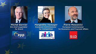 Le principe des têtes de liste européennes fait son chemin
