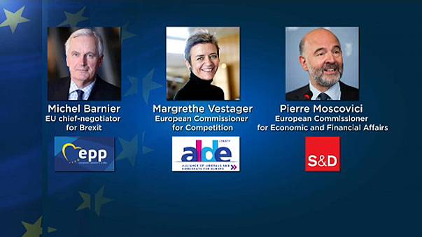Rumoured frontrunners for the next European Commission President