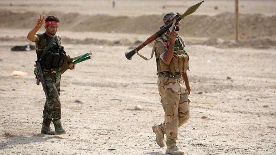 کمک شبه نظامیان عراقی نزدیک به ایران به نیروهای سوری تحت حمایت آمریکا