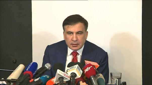 """Saakashvili diz que """"cidadania ucraniana"""" é um direito"""