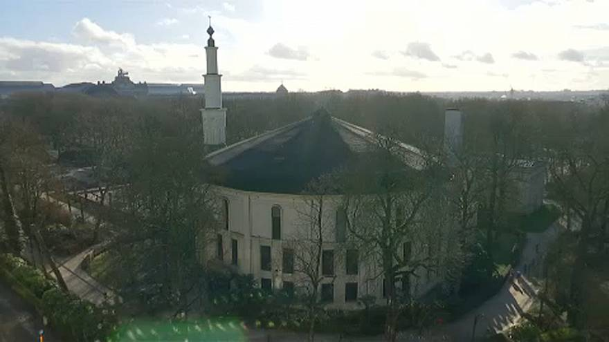 The Grand Mosque in Brussels is the largest mosque in Belgium.