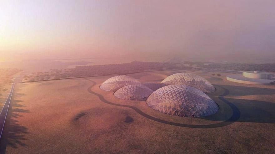 Artificial city to give a glimpse of life on Mars