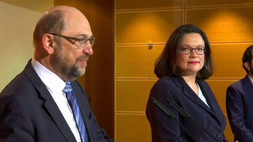 La gran coalición también lleva el caos al SPD