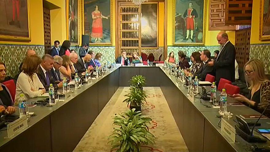 Grupo de Lima lança duras críticas a Nicolas Maduro