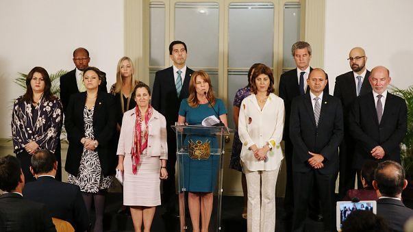 Ministros de Exteriores del Grupo de Lima