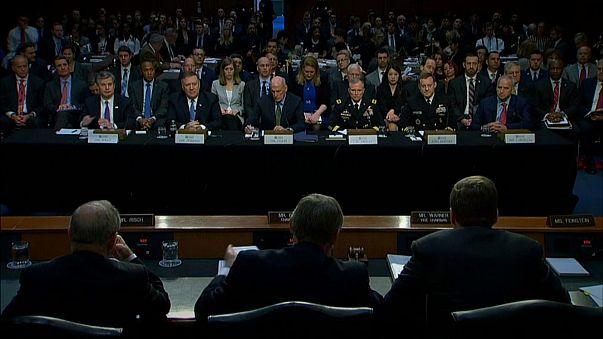 Responsables de los servicios de Seguridad e Inteligencia en el Senado