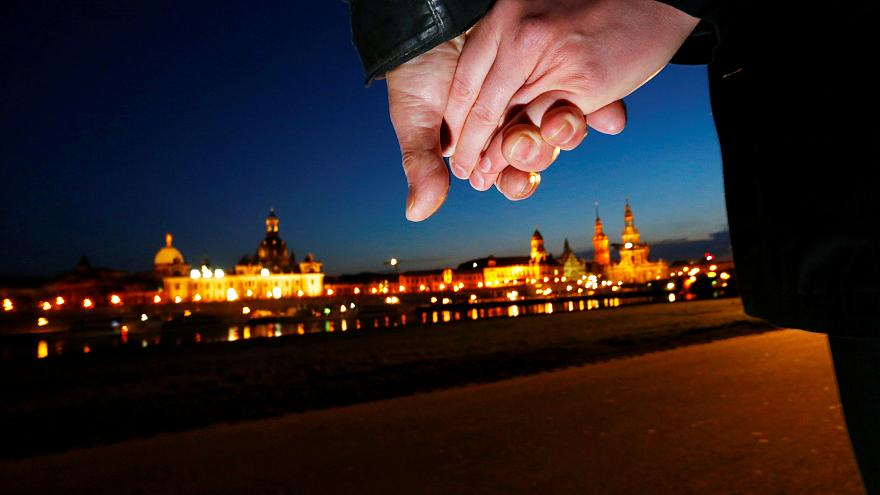 Dresda ricorda bombardamenti del '45