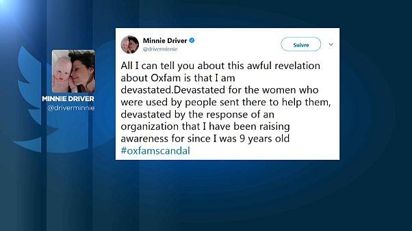 Звезды покидают Oxfam