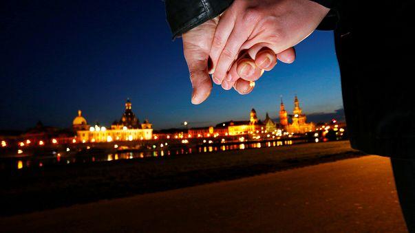 Dresden lembra aniversário do bombardeamento de 1945