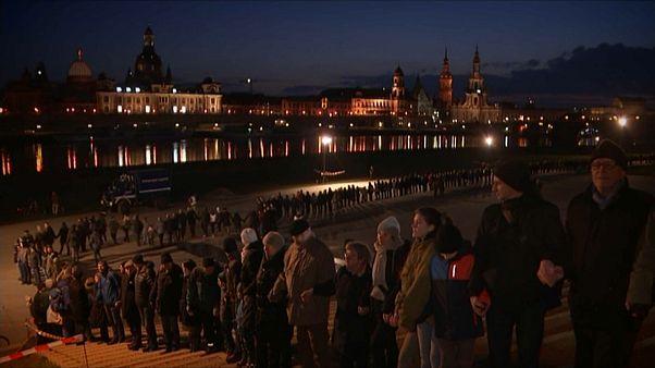 Dresde commémore les 73 ans du bombardement