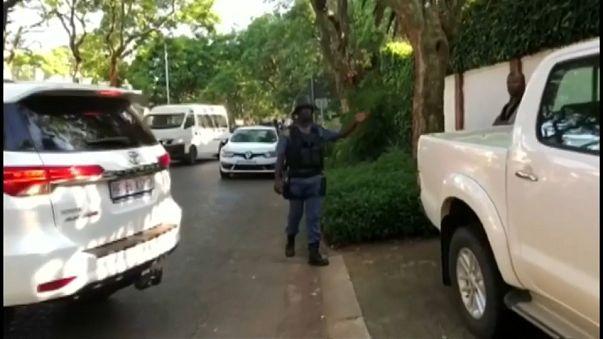 Police raid home of Gupta family in Johannesburg