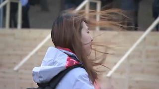 Windalarm bei Olympia