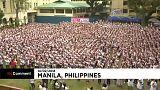 Miles de niñas y educadoras bailan en Manila por el fin de la violencia contra las mujeres