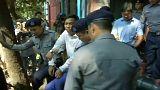 Myanmar: Jornalistas da Reuters reclamam inocência