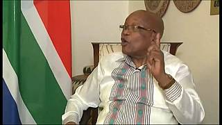 South African president Jacob Zuma refuses to resign