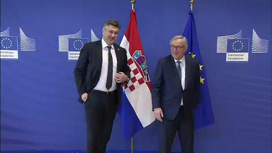 Hırvatistan Schengen bölgesine girmek istiyor