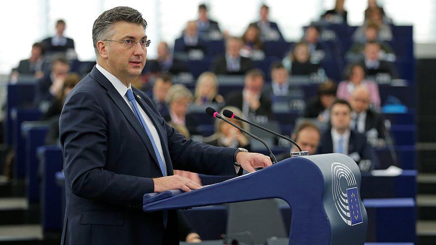 Le Premier ministre croate Andrej Plenković