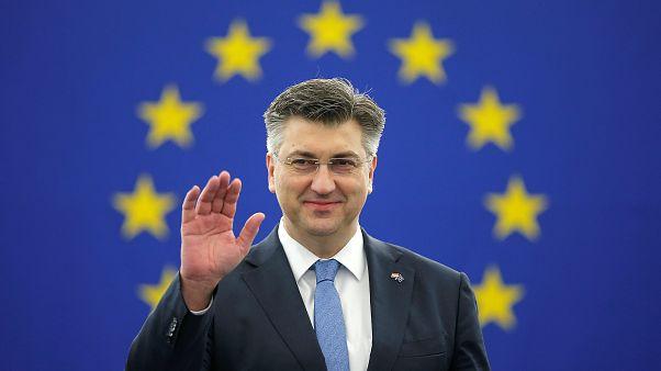 Andrej Plenković , primeiro-ministro da Croácia