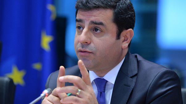 HDP'li Demirtaş: Referandumda 'evet' dememiz için bir bakan İmralı'dan talimat getirdi