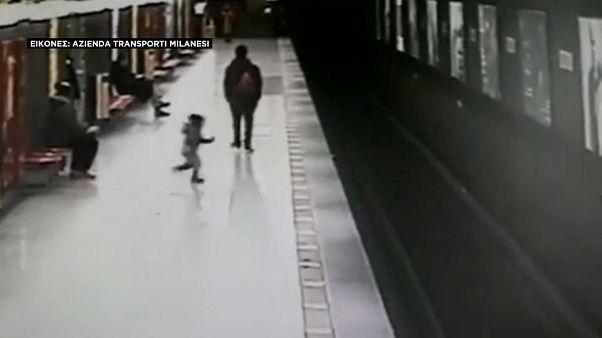 Μιλάνο: «Ο ήρωας του μετρό»