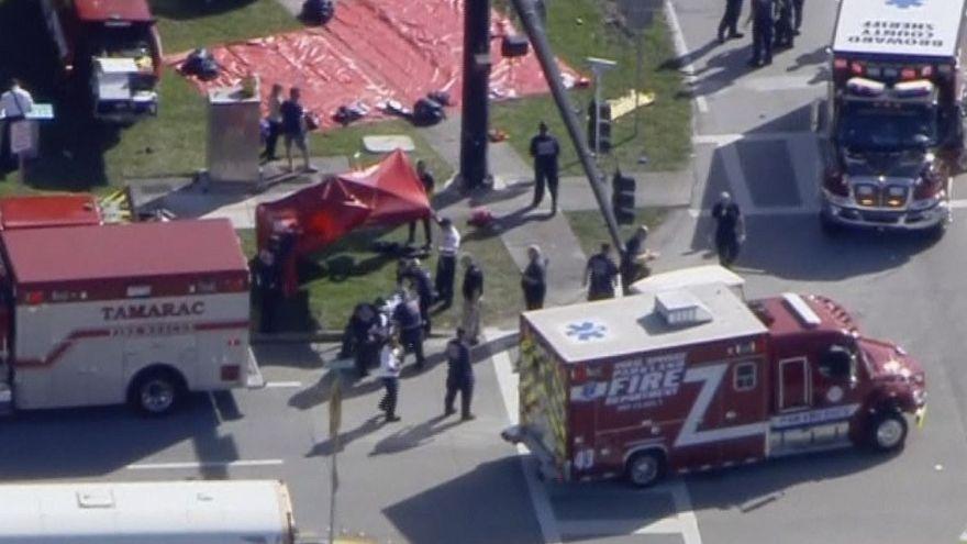 'Fatalities' in Florida school shooting; suspect 'in custody'