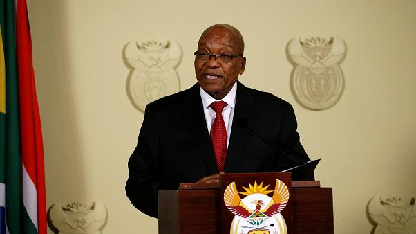 South African President Jacob Zuma resigns amid corruption claims