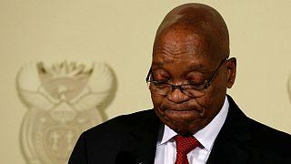 جاکوب زوما از ریاست جمهوری آفریقای جنوبی کناره گیری کرد