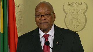 Джейкоб Зума уходит с поста главы государства