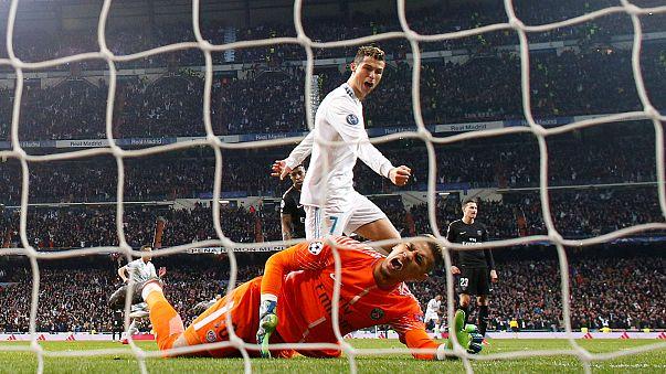 ريال مدريد يسحق باريس سان جيرمان بـ 3 -1