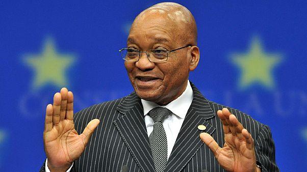 N. Αφρική: Παραίτηση του προέδρου Ζούμα μέσω τηλεοπτικού διαγγέλματος